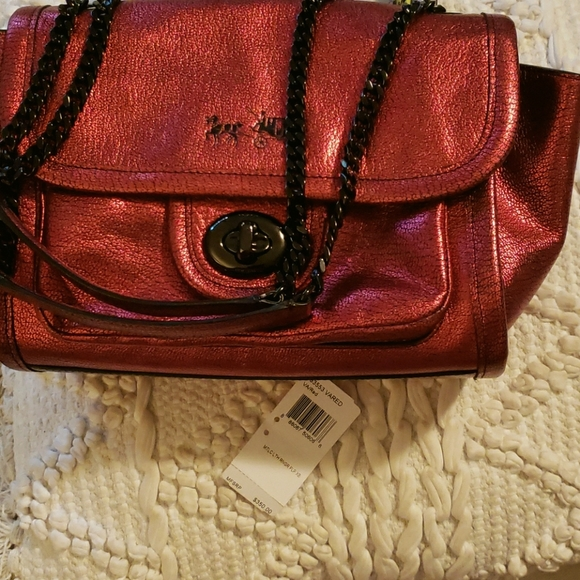 COACH Ranger Red Handbag